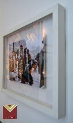 ENMARCADO CAJON FLOTANTE Enmarcado de cuadros