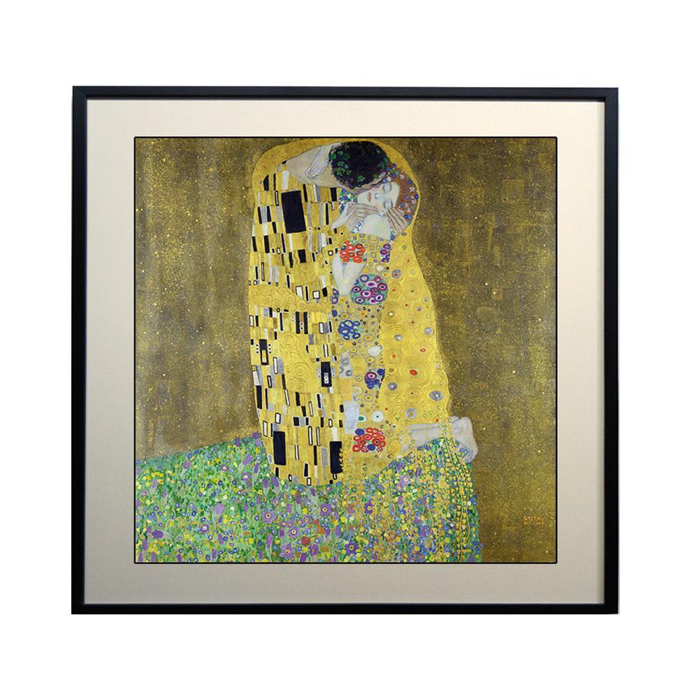 Cuadro El Beso, Klimt
