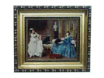 Enmarcado de lamina Las Meninas Enmarcado de laminas