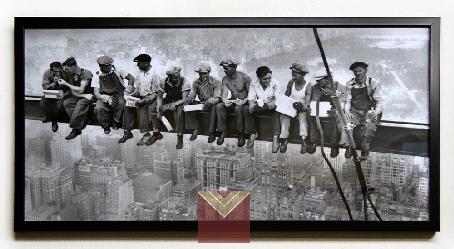 Cuadro Foto Almuerzo sobre un rascacielos New York Marcos y Cuadros