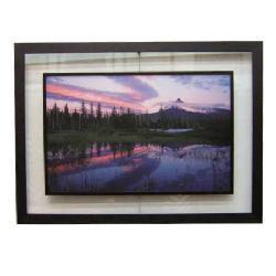 Enmarcado de lamina de foto de paisaje Enmarcado de laminas
