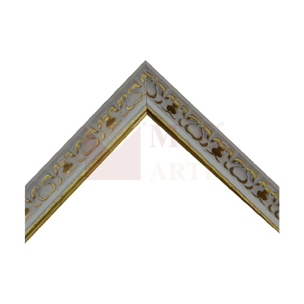 frisada 3 cm oro GASTADO