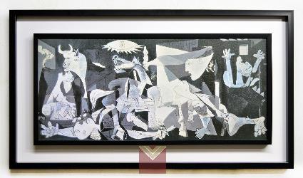 Cuadro Guernica, Picasso Enmarcado de laminas