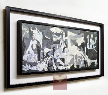 Marcos y cuadros cuadros cuadro guernica picasso - Enmarcado de cuadros ...