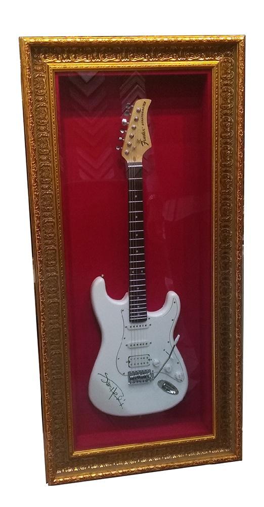 enmarcado guitarra