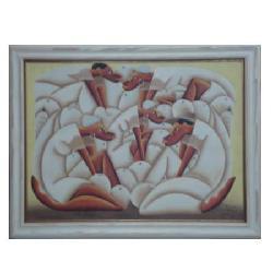 Enmarcado de Oleo Haitianos Enmarcado de cuadros
