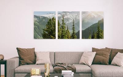 triptico canvas en bastidor Enmarcado de laminas