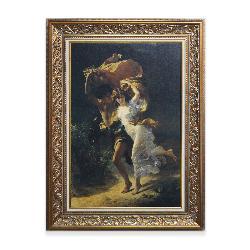 Cuadro La Tormenta COT, Pierre Auguste Enmarcado de laminas