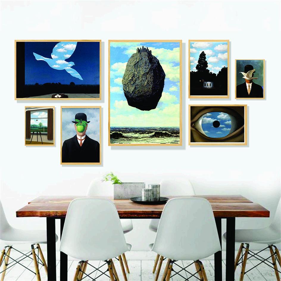 Set 7 cuadros canvas
