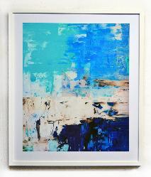 Cuadro abstracto Enmarcado de cuadros