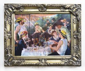 Cuadro El almuerzo de los Remeros Renoir Marcos y Cuadros