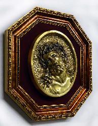 Enmarcado especial varilla Dorado octogonal Enmarcado de laminas