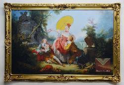 Marco Luis XV Enmarcado de laminas