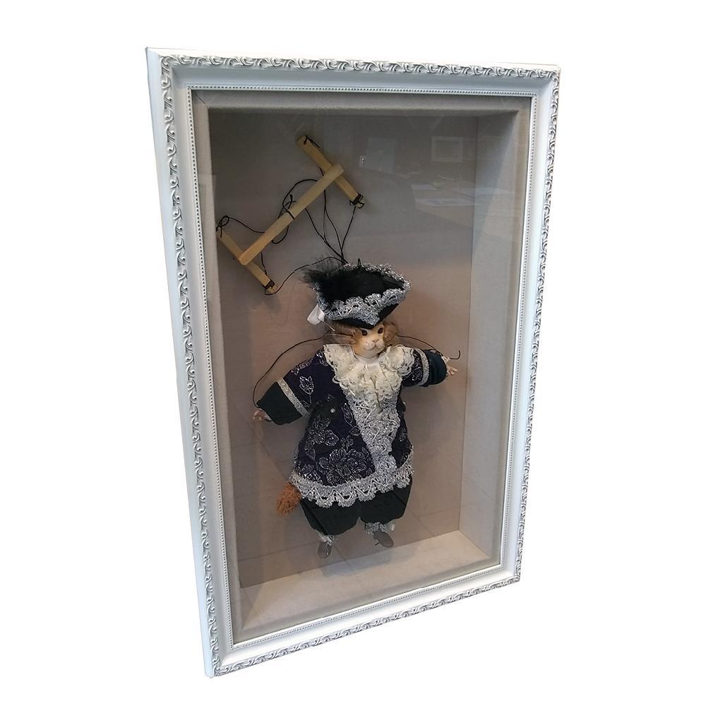 enmarcado marioneta