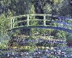 Nenufares y puente Enmarcado de laminas