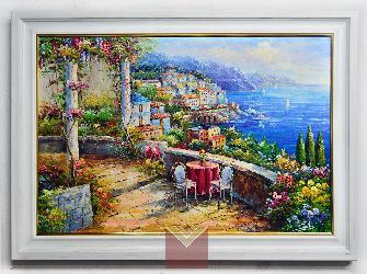 Enmarcado Oleo paisaje Enmarcado de cuadros