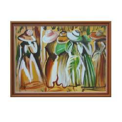 Enmarcado de Oleo gorros Enmarcado de cuadros