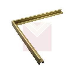 Aluminio 7 x 20 mm oro Marcos y Cuadros
