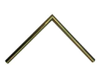 Aluminio 15 x 30 mm oro Marcos y Cuadros