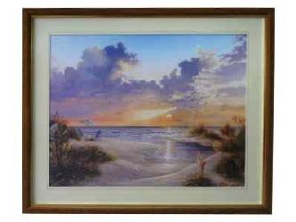 Cuadro - Paradise Sunset Marcos y Cuadros