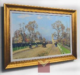 Cuadro Pissarro, La avenida, Sydenham Marcos y Cuadros