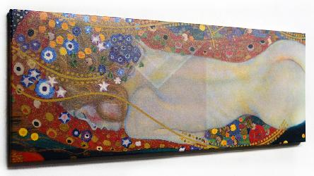 Cuadro Serpientes de agua, Klimt Marcos y Cuadros