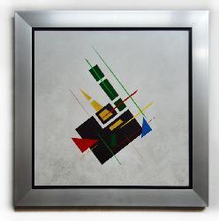 Cuadro Original,  TURBET LAVRIOCHE Enmarcado de laminas