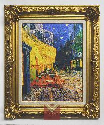 Cuadro Terraza del Cafe Van Gogh Enmarcado de laminas