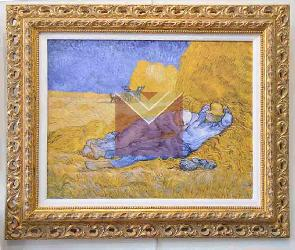 Cuadro La siesta Van Gogh Enmarcado de cuadros