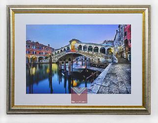 Cuadro foto canal de Venecia Marcos y Cuadros